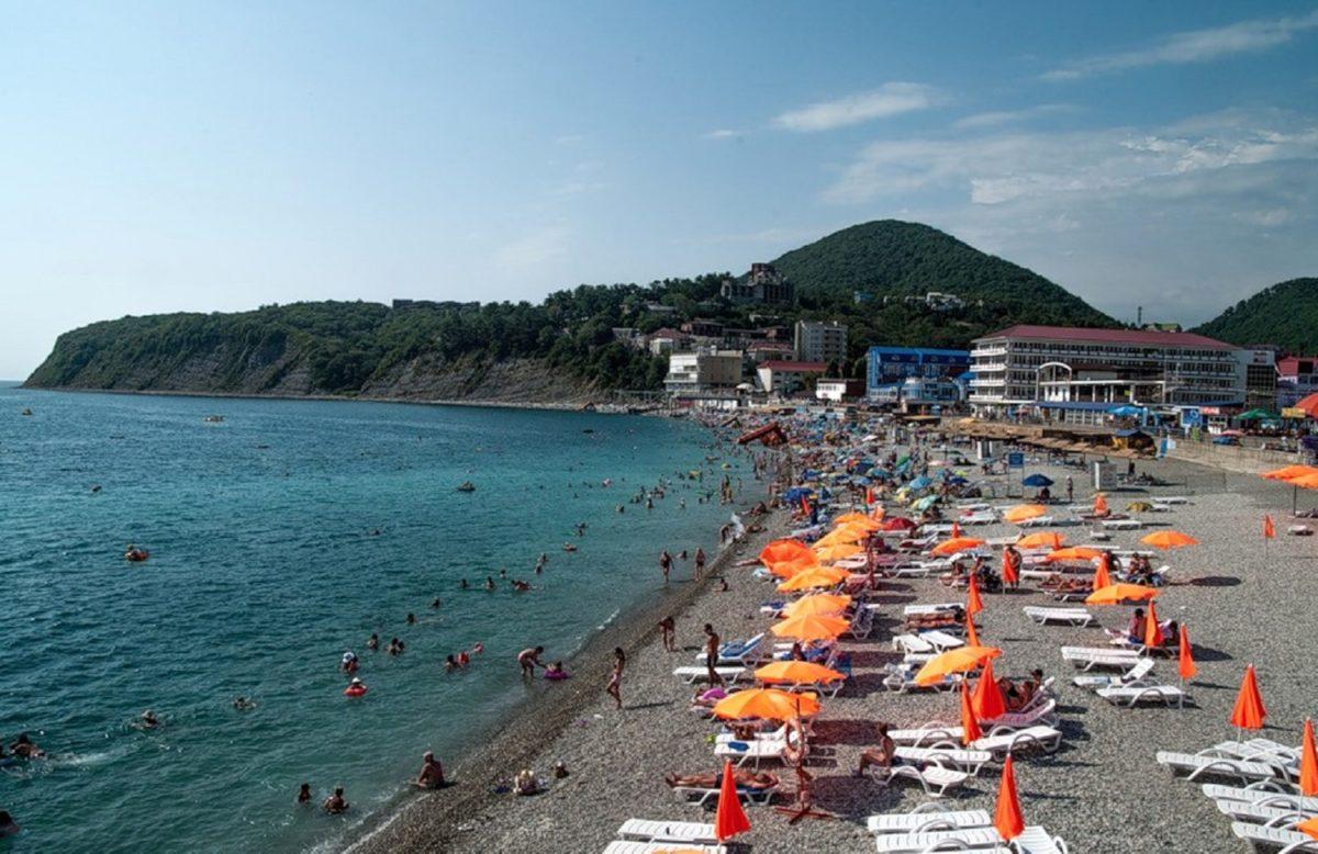 Пляжи в ольгинке фото и отзывы