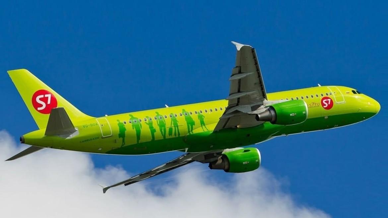 S7 Airlines начала выполнять рейсы за рубеж